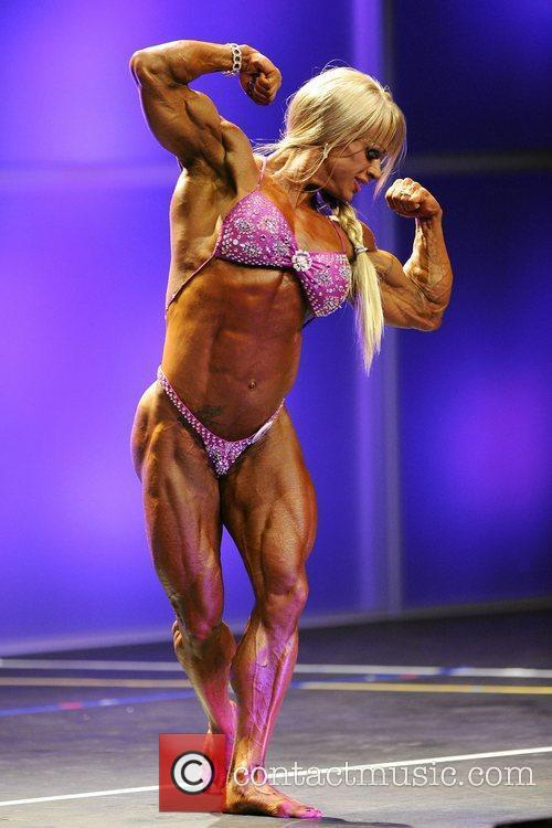 Cathy LeFrancois   Women's Bodybuilding Competition...