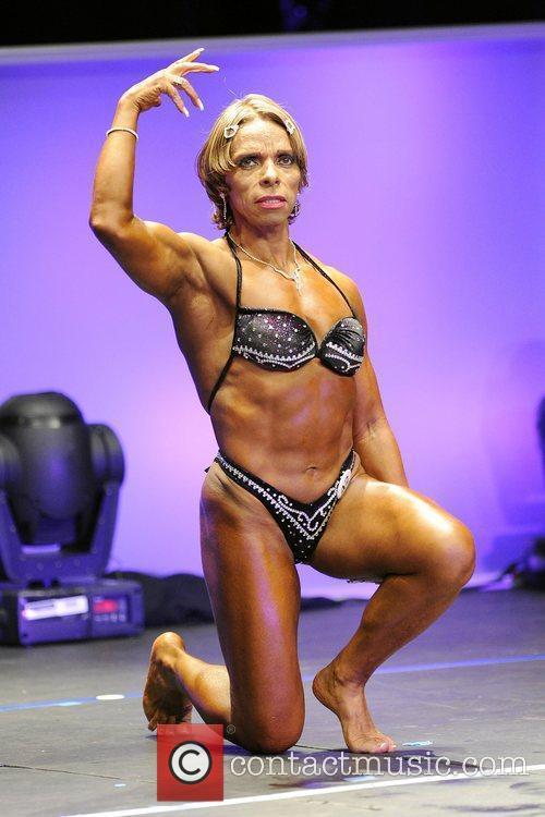 Elizabeth Meza   Women's Bodybuilding Competition...