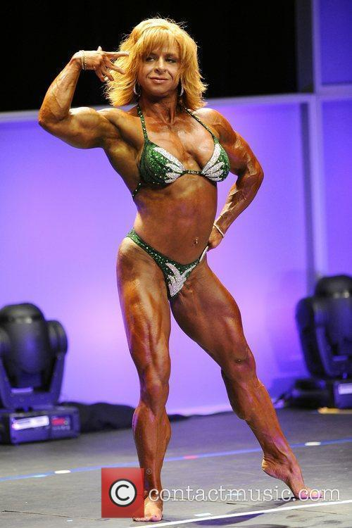 Women's Bodybuilding Competition   2011 IFBB Toronto...