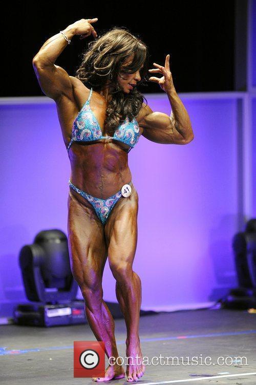 Mah Ann Mendoza   Women's Bodybuilding Competition...