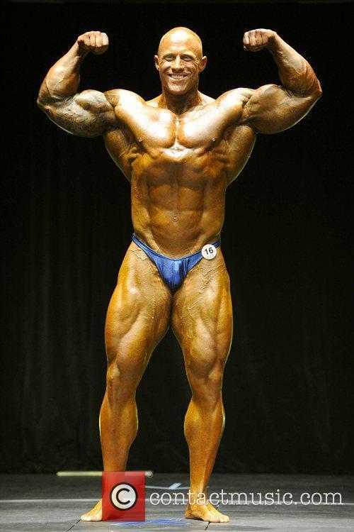 Men's Open Bodybuilding Competition
