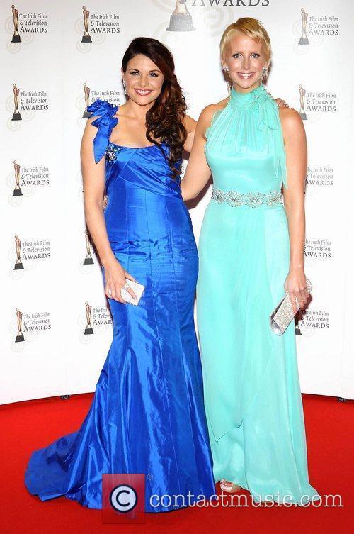 Lisa Cannon and Aisling O' Loughlin 'Irish Film...