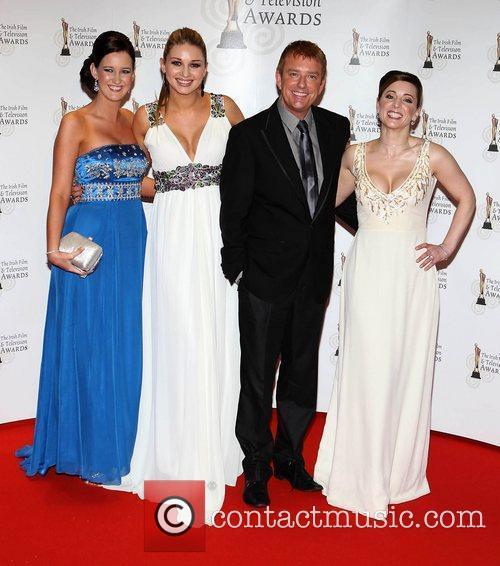 Victoria O'brien, Anna Daly, Alan Hughes and Sinead...