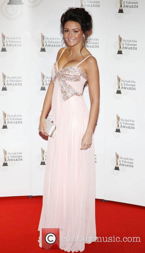 Michelle Keegan 'Irish Film and Television Awards' at...
