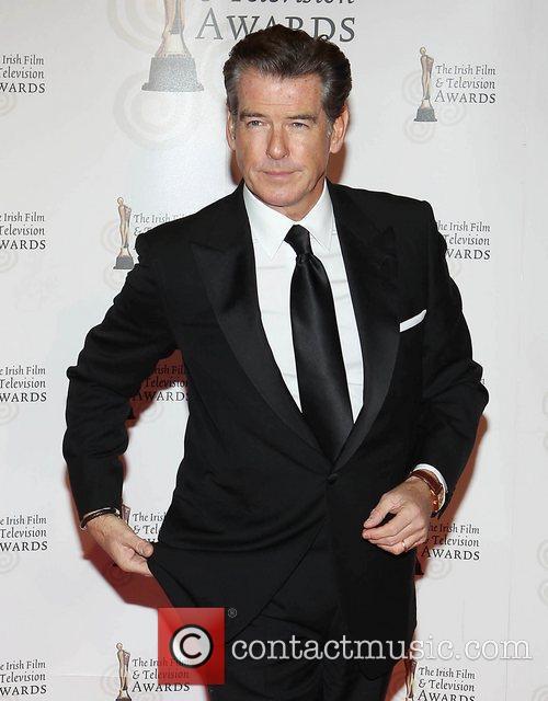 Pierce Brosnan 'Irish Film and Television Awards' at...