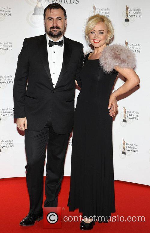 Angeline Ball and Guest 'Irish Film and Television...