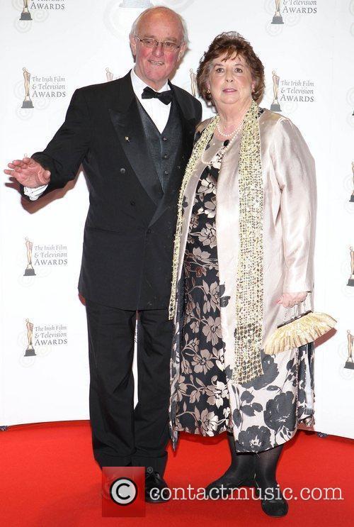 Frank Kelly and Barbara Kelly 'Irish Film and...