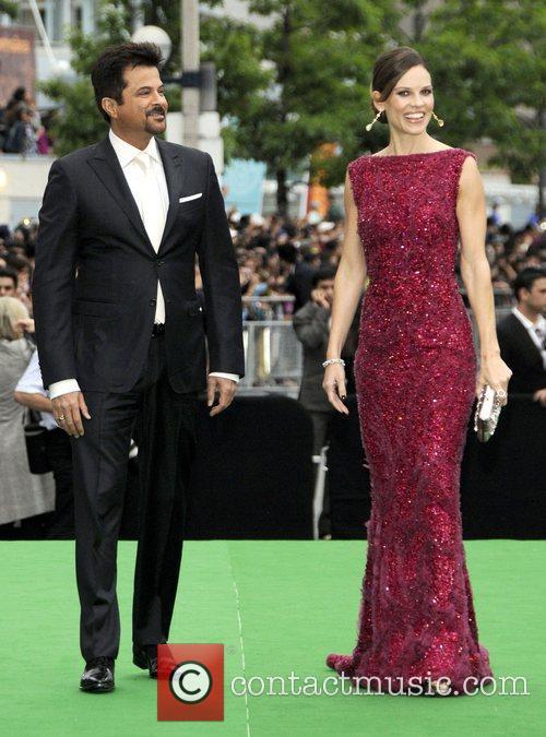 Anil Kapoor and Hillary Swank  International India...