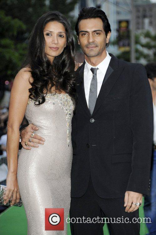 Arjun Rampal and wife Mehr Jesia  International...