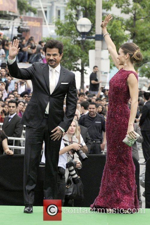 Anil kapoor and Hilary Swank  International India...