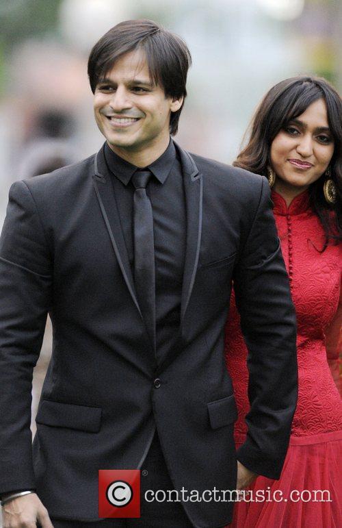 Vivek Oberoi and wife Priyanka Alva  International...