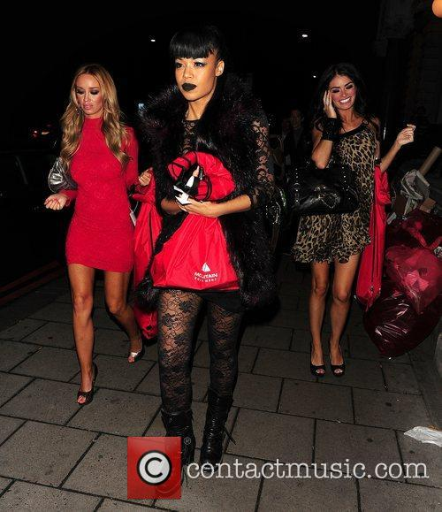 Lauren Pope and Chloe Sims at party held...