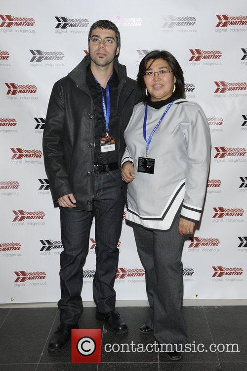 Neil Christopher and Louise Flaherty  2011 imagineNative...