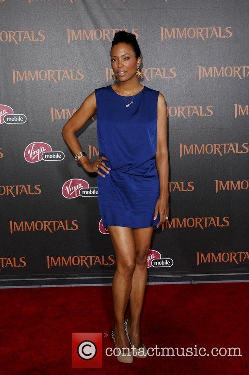 Aisha Tyler  'Immortals 3D' Los Angeles premiere...