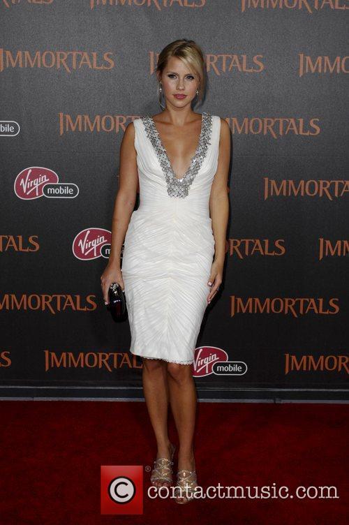 Claire Holt  'Immortals 3D' Los Angeles premiere...