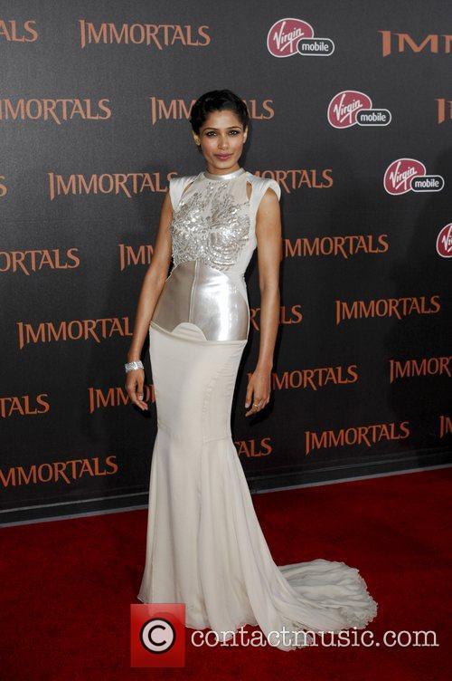 Freida Pinto  'Immortals 3D' Los Angeles premiere...