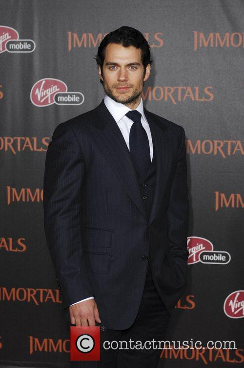 Henry Cavill 'Immortals 3D' Los Angeles premiere