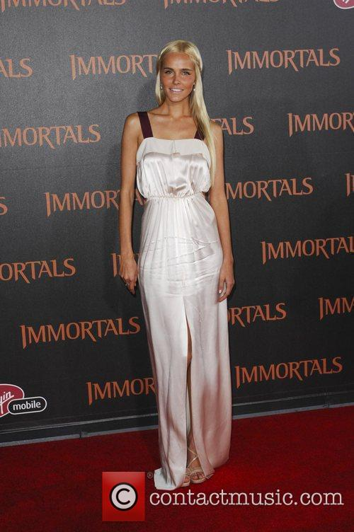 Isabel Lucas  'Immortals 3D' Los Angeles premiere...