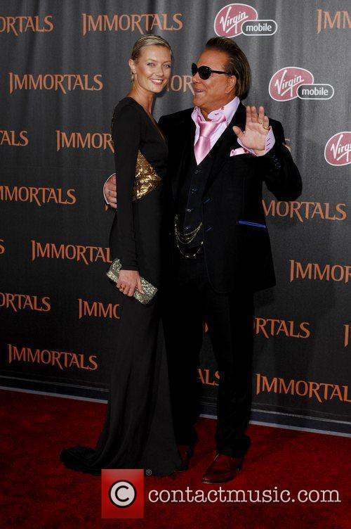 Mickey Rourke  'Immortals 3D' Los Angeles premiere...