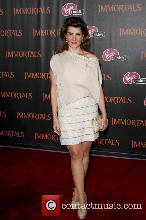 Nia Vardalos  'Immortals 3D' Los Angeles premiere...