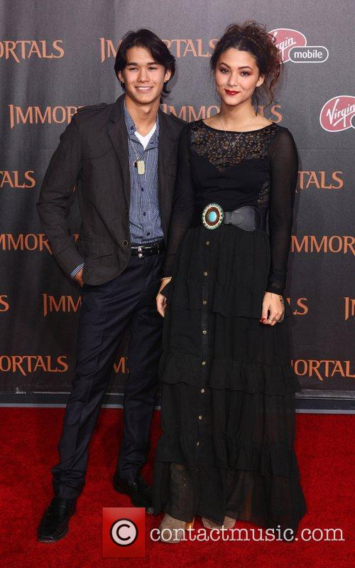 BooBoo Stewart and Fivel Stewart 'Immortals 3D' Los...