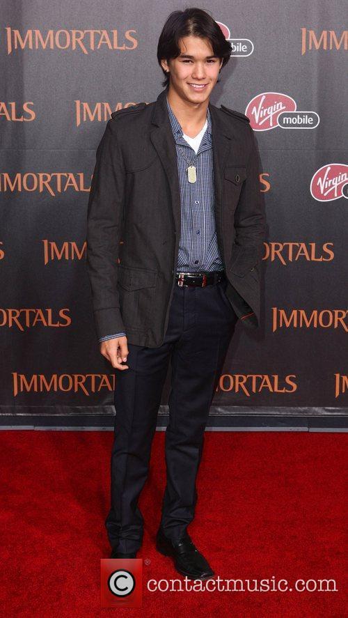 BooBoo Stewart 'Immortals 3D' Los Angeles premiere at...