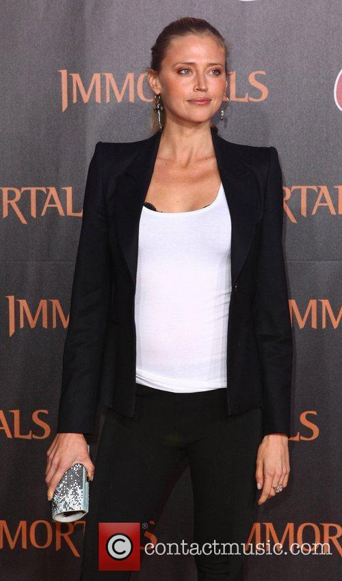Estella Warren 'Immortals 3D' Los Angeles premiere at...