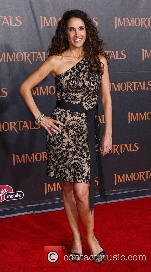 Melina Kanakaredes 'Immortals 3D' Los Angeles premiere at...