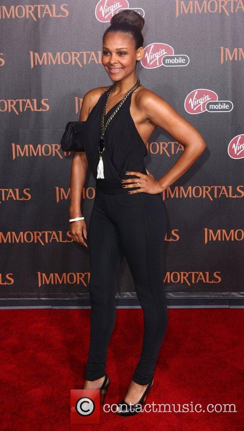 Samantha Mumba 'Immortals 3D' Los Angeles premiere at...
