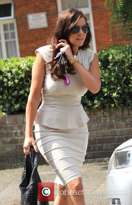 Imogen Thomas leaves her home London, England