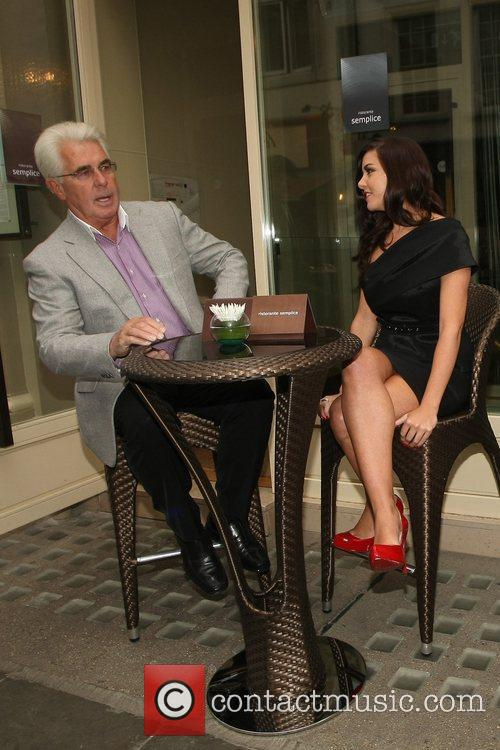 Imogen Thomas and Max Clifford 24
