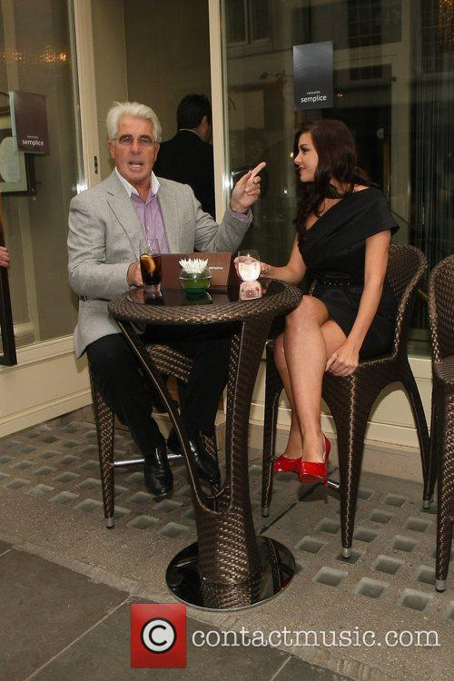 Imogen Thomas and Max Clifford 12