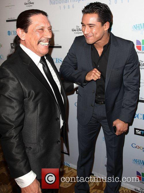Danny Trejo and Mario Lopez 7