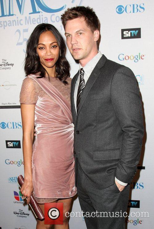 Zoe Saldana and Keith Britton 14th Annual Impact...