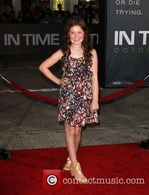 Emma Kenney The Premiere of 'In Time' held...