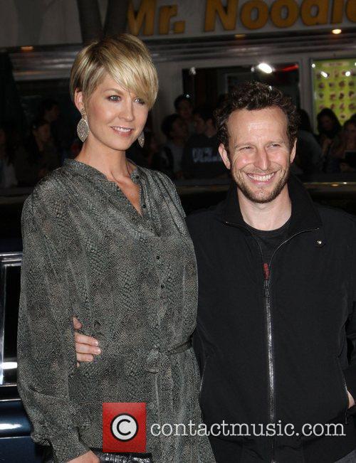 Jenna Elfman and Bodhi Elfman The Premiere of...