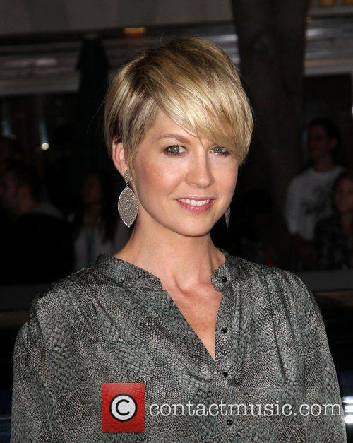 Jenna Elfman The Premiere of 'In Time' held...