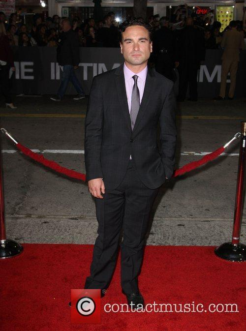 Johnny Galecki The Premiere of 'In Time' held...