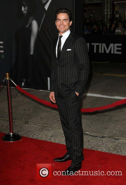 Matt Bomer The Premiere of 'In Time' held...