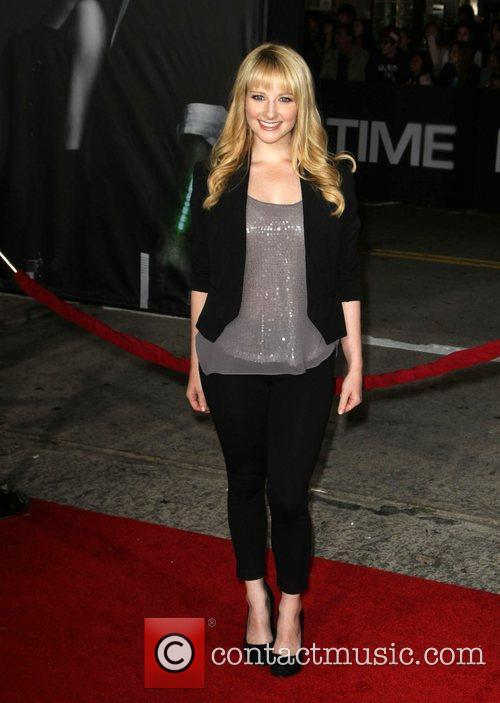 Melissa Rauch The Premiere of 'In Time' held...