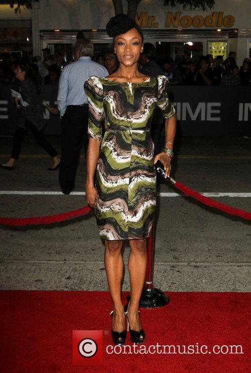 Yaya DaCosta The Premiere of 'In Time' held...