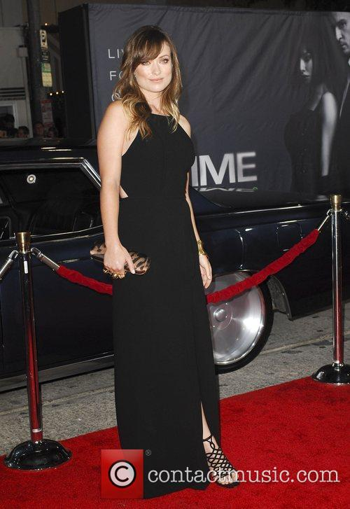 Olivia Wilden  The Premiere of 'In Time'...