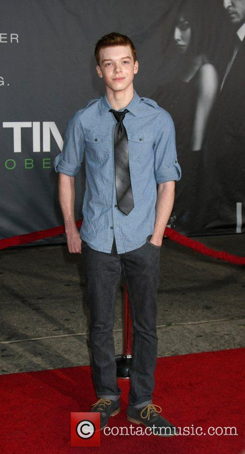 Cameron Monaghan  The Premiere of 'In Time'...