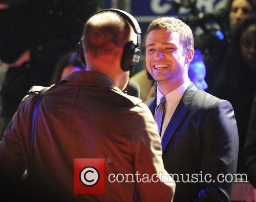 Justin Timberlake at the UK film premiere of...