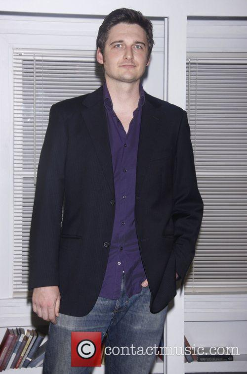 Toby Leonard Moore Opening night of 'Suicide, Incorporated'...