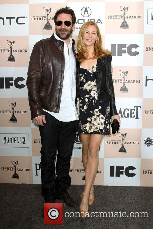 Jon Hamm, Jennifer Westfeldt, Independent Spirit Awards and Spirit Awards 6