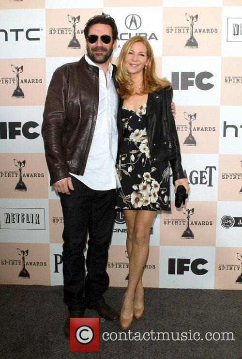 Jon Hamm, Jennifer Westfeldt, Independent Spirit Awards and Spirit Awards 4