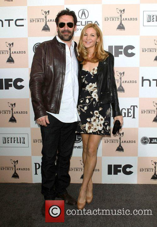 Jon Hamm, Jennifer Westfeldt, Independent Spirit Awards and Spirit Awards 1