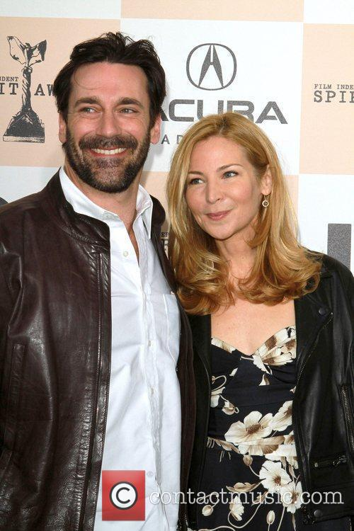 Jon Hamm, Jennifer Westfeldt, Independent Spirit Awards and Spirit Awards 3
