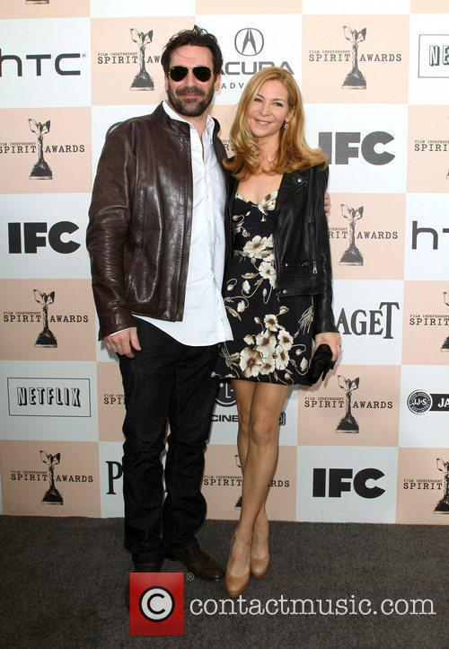 Jon Hamm, Jennifer Westfeldt, Independent Spirit Awards and Spirit Awards 5